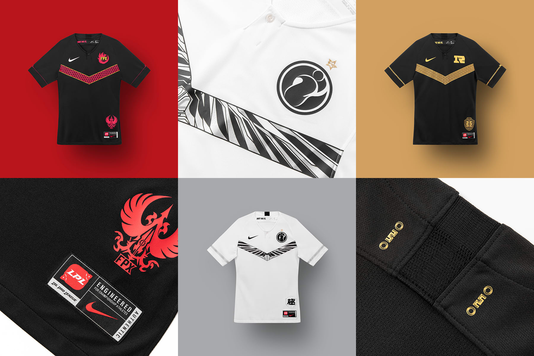 best sneakers 89a49 c0641 Take a look at Nike's first esports jerseys