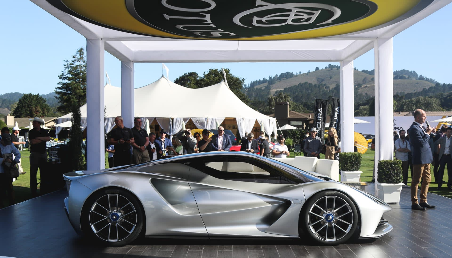 Lotus Sports Car >> Lotus Ev Supercar Hints At The Automaker S Future Engadget