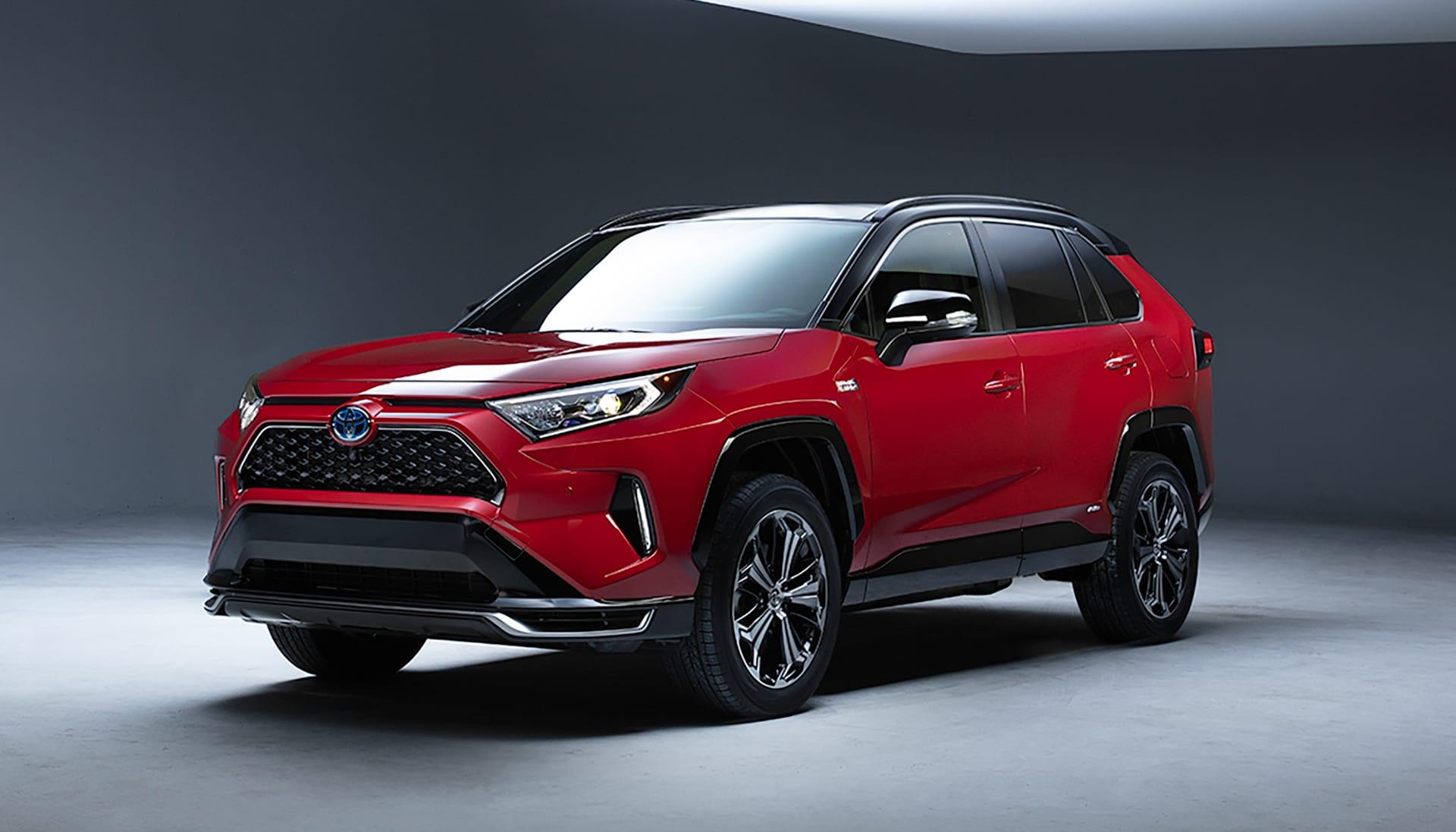 Toyota's 2021 Rav4 hybrid gets a plug