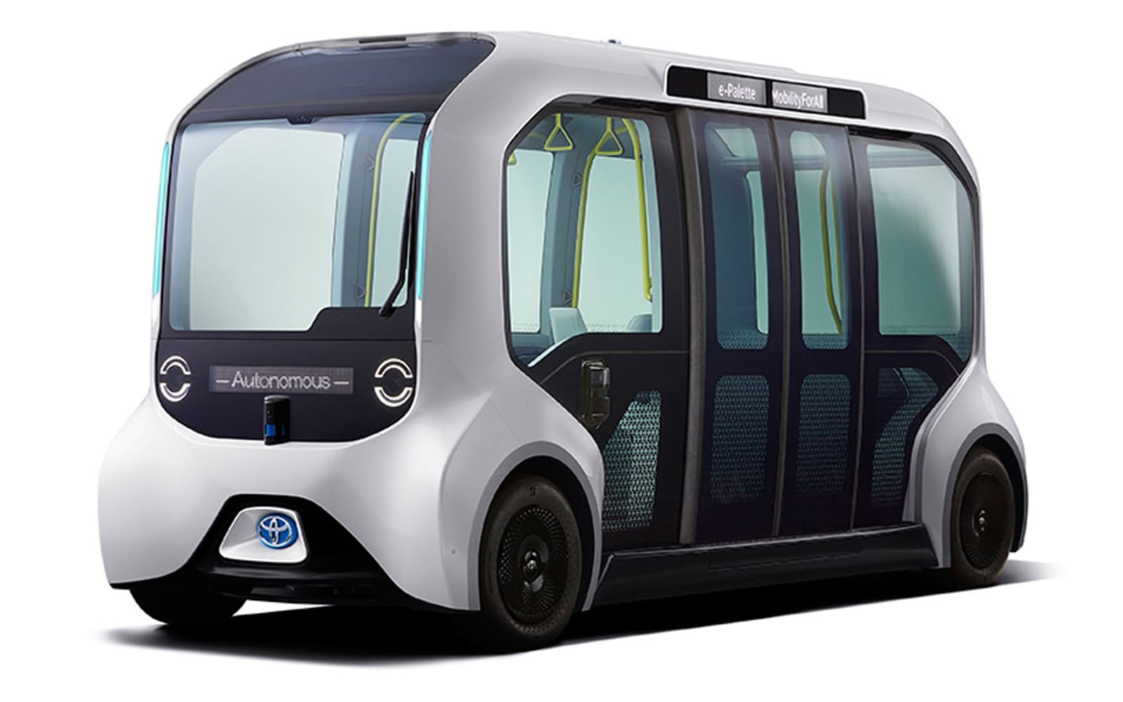 Toyota's e-Palette will transport athletes during the 2020 Olympics