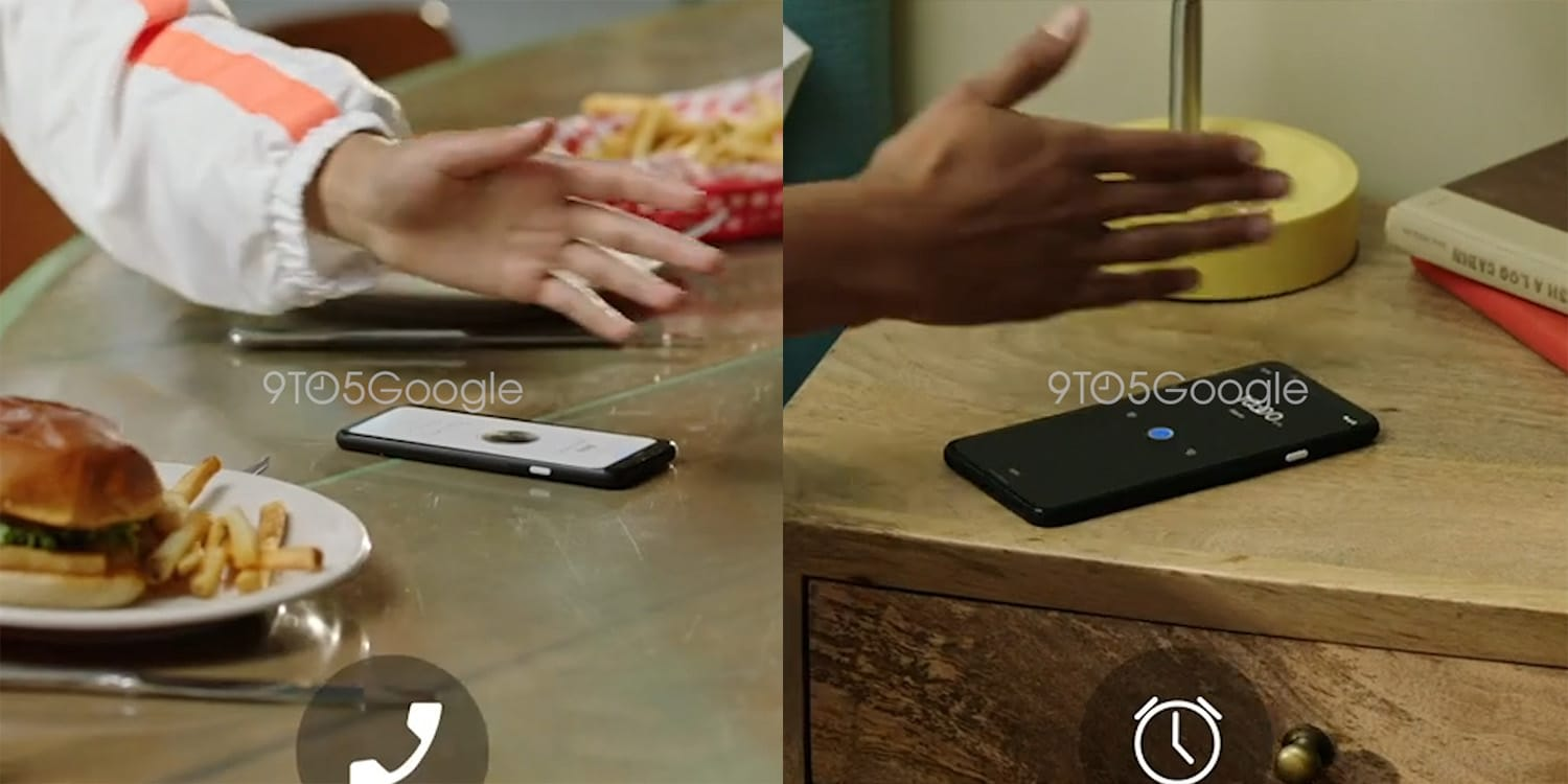 Leaked Google videos show the Pixel 4's 'Motion Sense' gestures in action