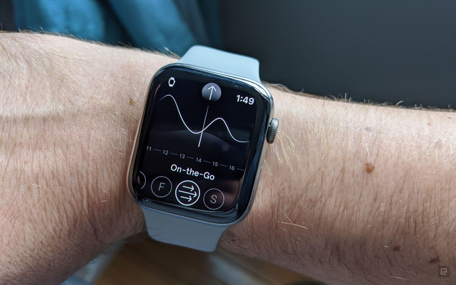 Endel's Apple Watch app generates soothing sounds on your wrist