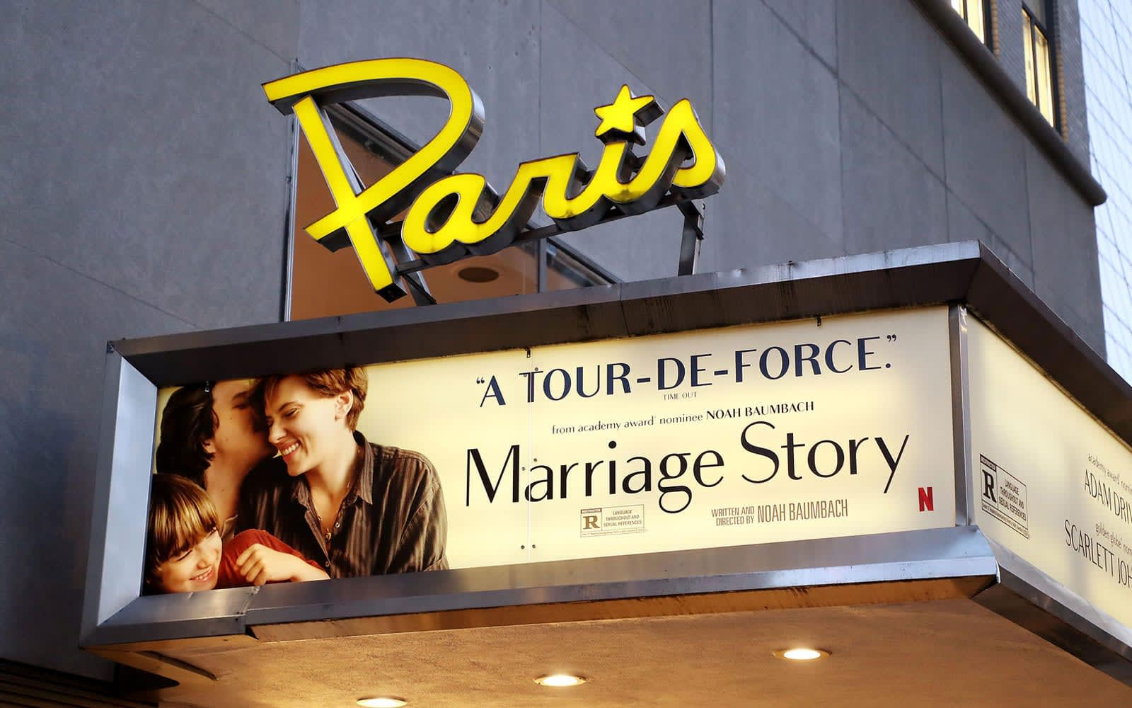 Netflix steps in to save New York's historic 'Paris Theatre