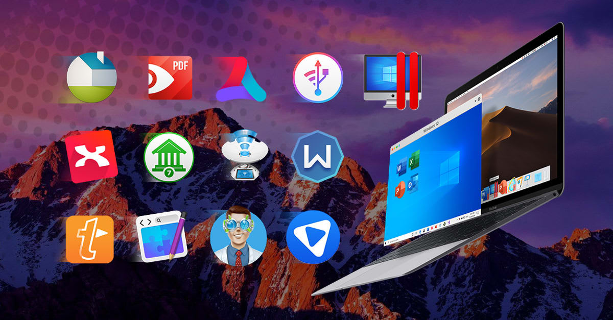 Score Parallels Desktop plus 12 more Mac apps for $36 today