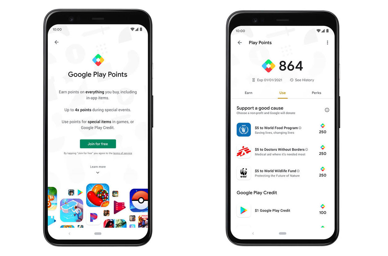 Google S Play Points Program Rewards You For Ing