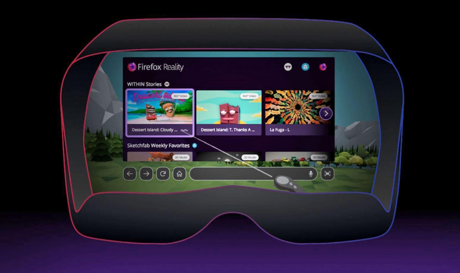 Firefox makes it easier to send links between VR and desktop