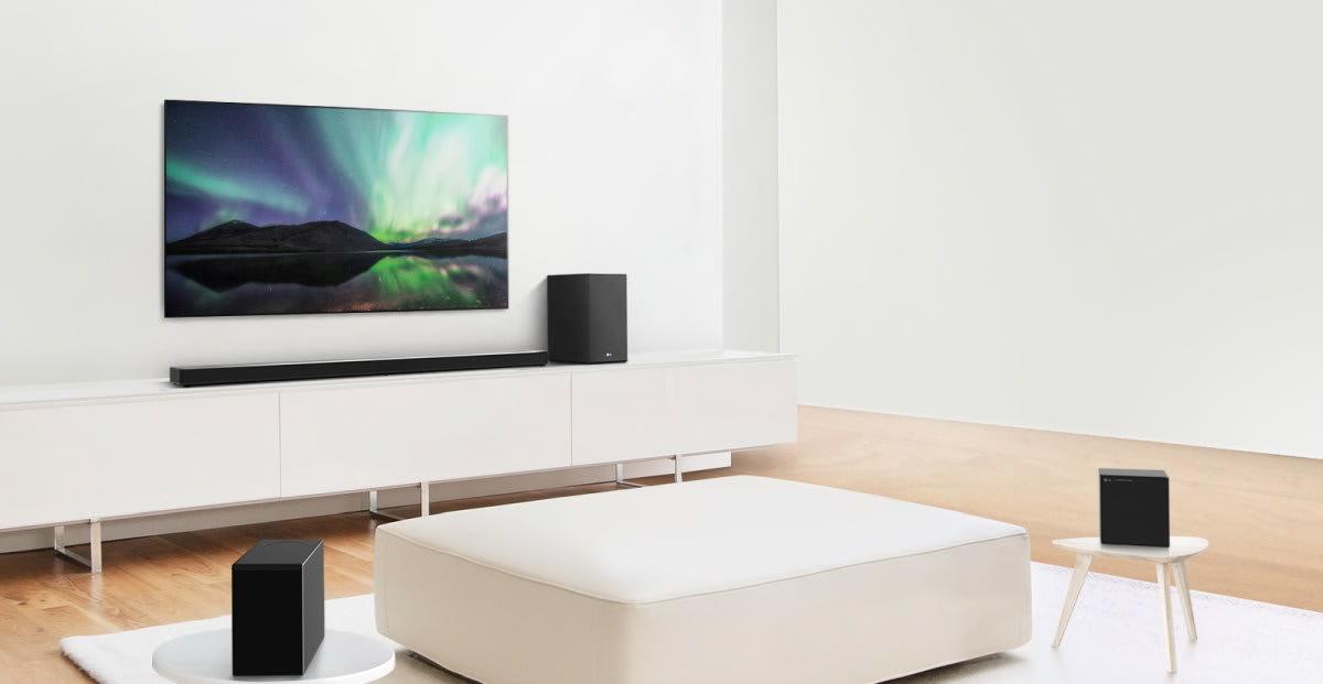 LG's 2020 soundbars add 'AI Room calibration' to optimize their audio