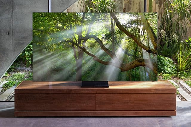 The Morning After: Samsung's 'zero bezel' TV looks like this