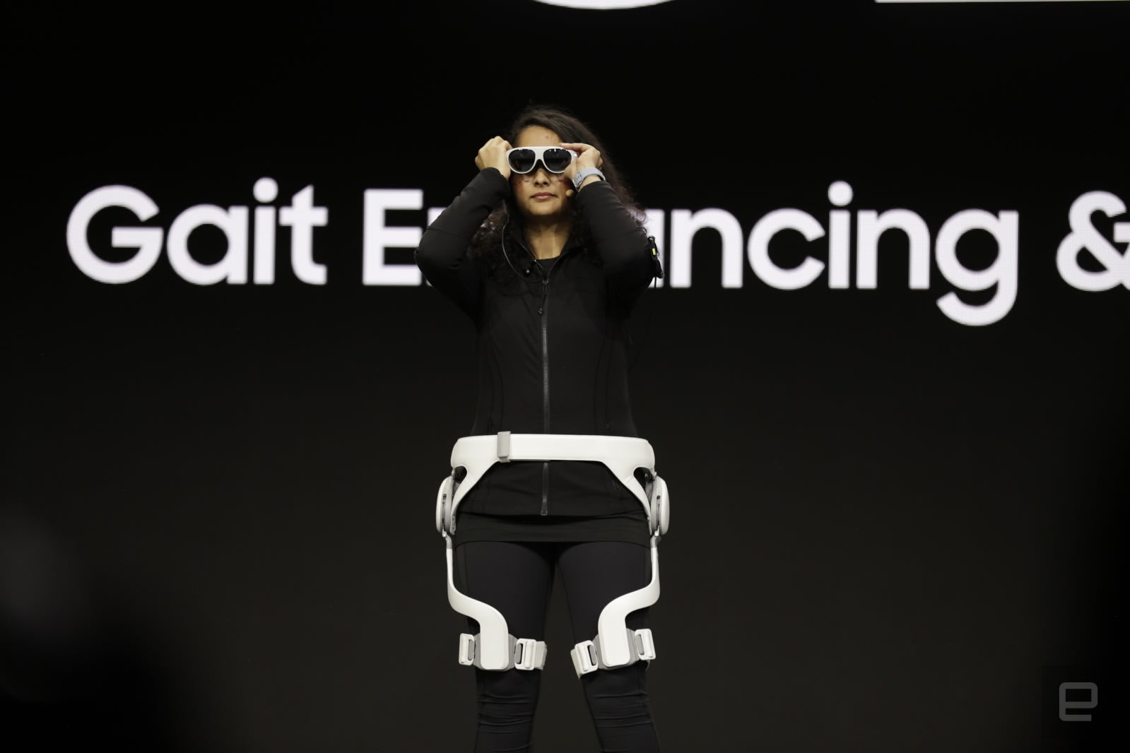 Samsung's CES fitness pitch: AR glasses and a GEMS exoskeleton