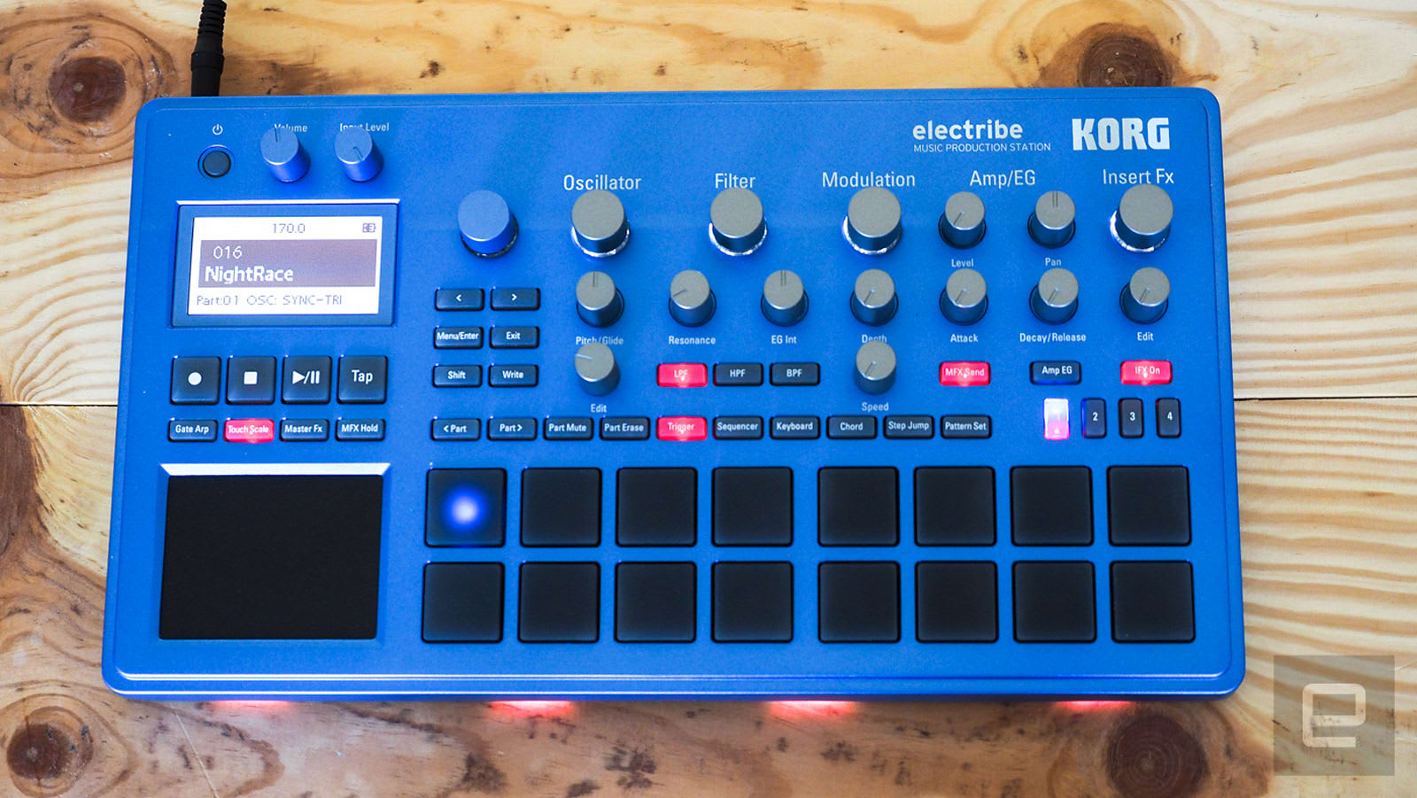 Korg's fun-to-use Electribe sequencers pack big features into a tiny