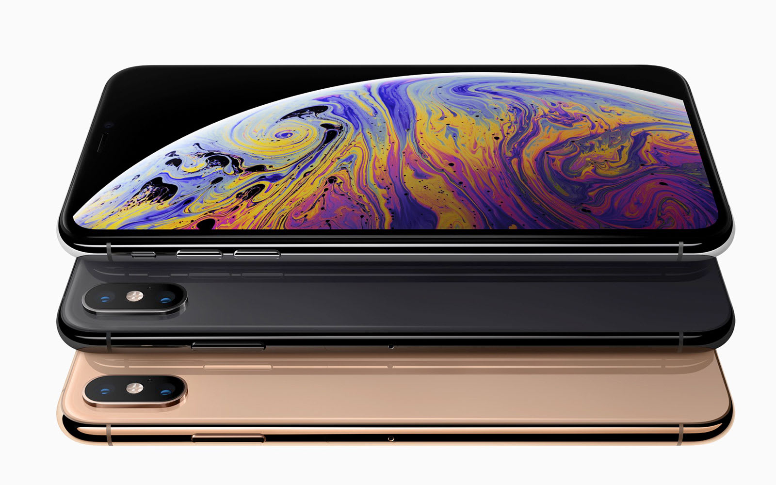 Apple's iPhone Xs and Xs Max are all about the display