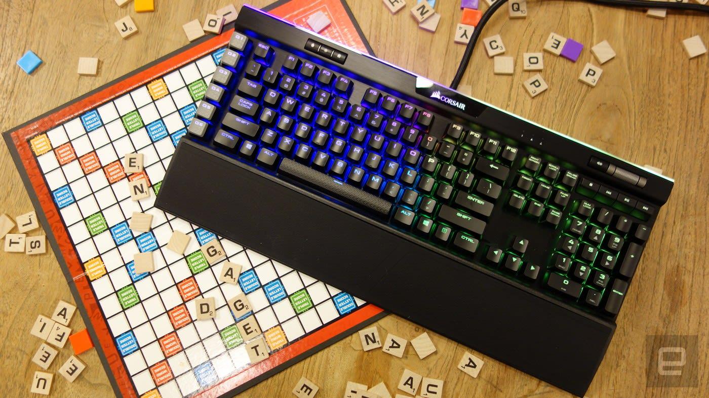 65f5cba7497 Corsair's new K95 gaming keyboard is surprisingly classy