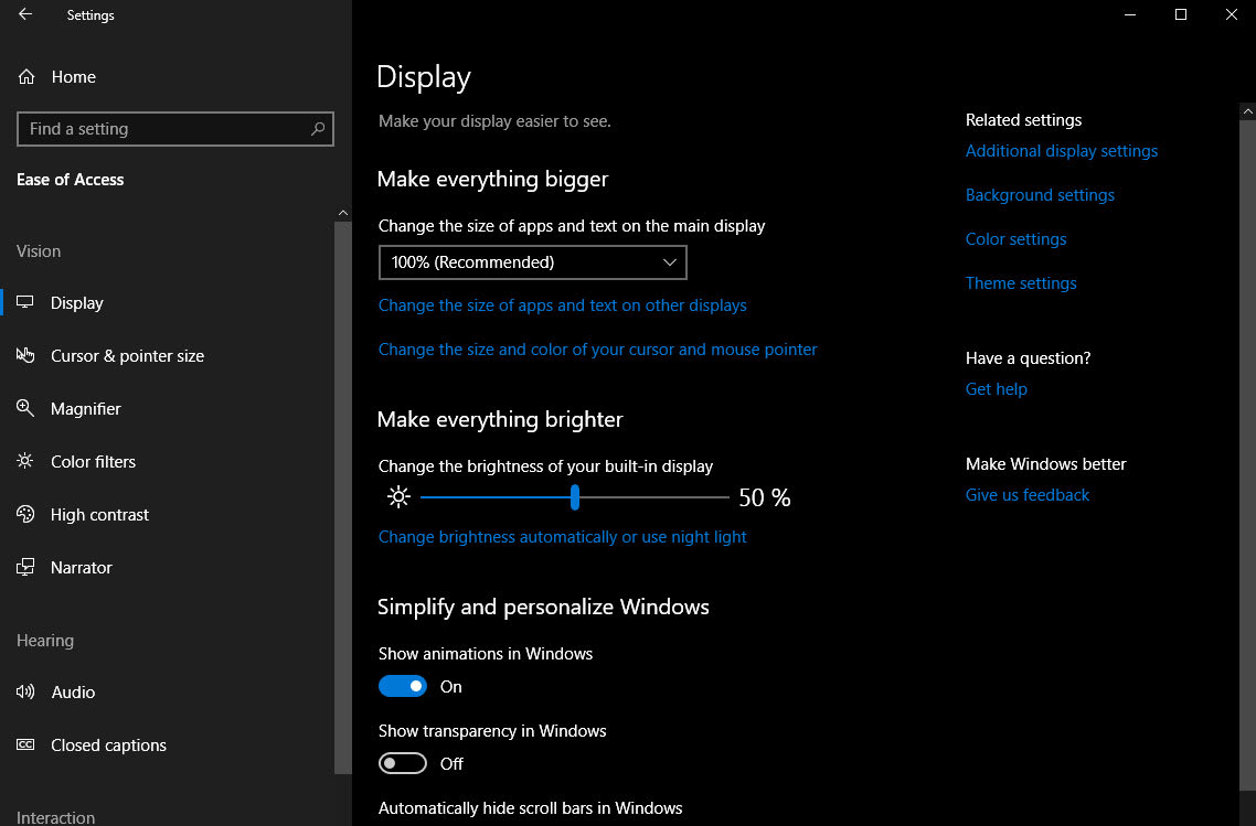 Upcoming Windows 10 Accessibility Features Include