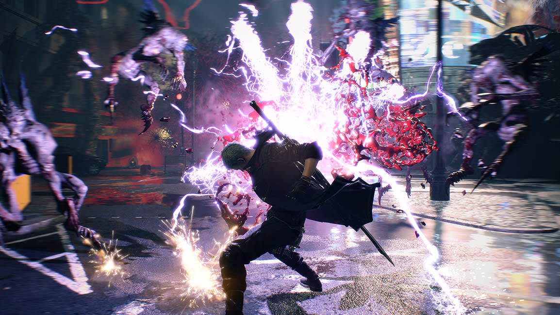 Image result for devil may cry 5 gameplay