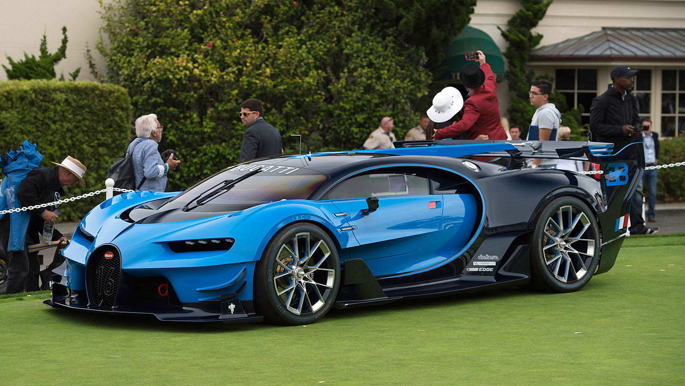 Pebble Beach Car Show >> The 2016 Pebble Beach Concept Lawn Was Nuts As Always