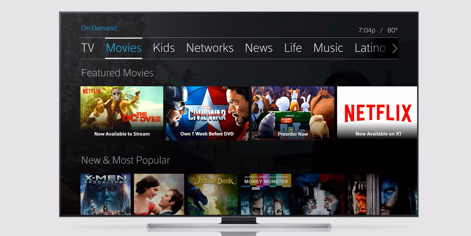 Comcast is bundling Netflix into cable packages