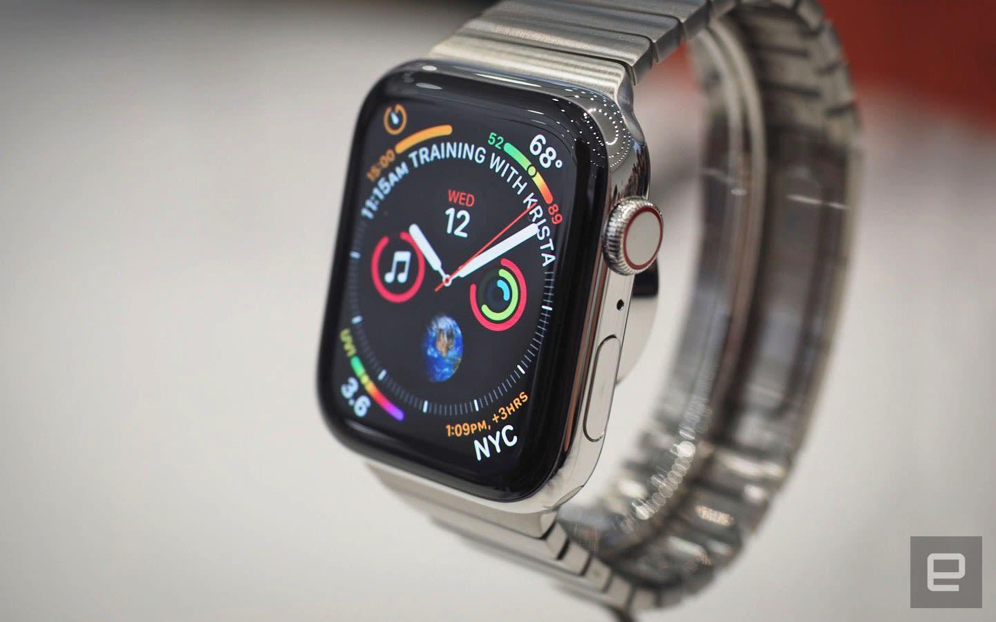 premium selection a4efa 3e1fa Apple Watch Series 4 hands-on: Subtle improvements