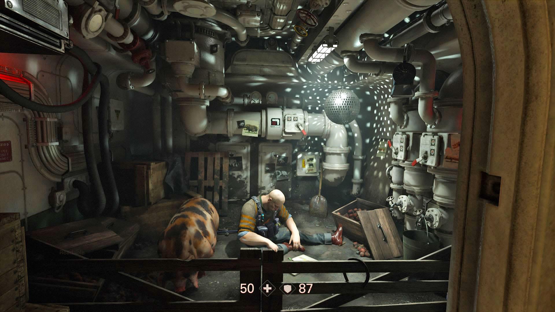 Wolfenstein II' is definitely not 'Doom'
