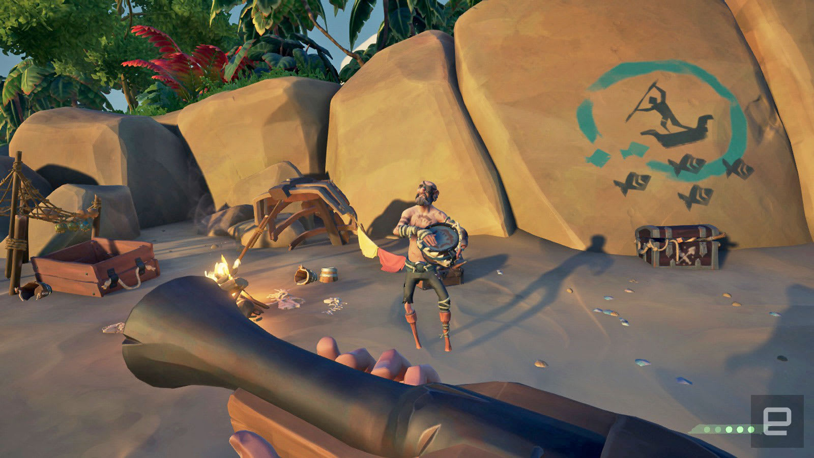 sea of thieves best weapon
