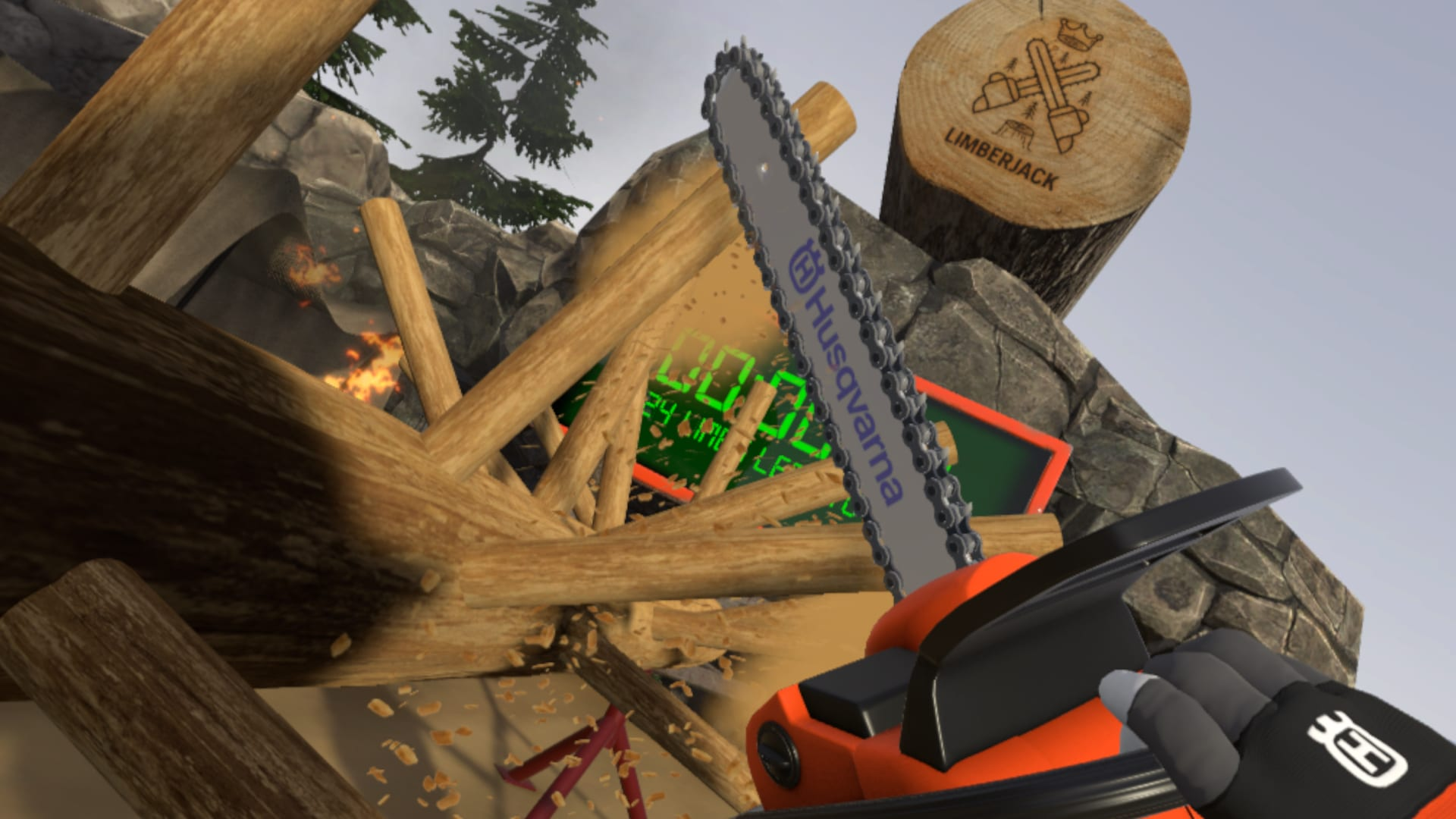 05d496adae Live out your lumberjack dreams in a VR chainsaw simulator