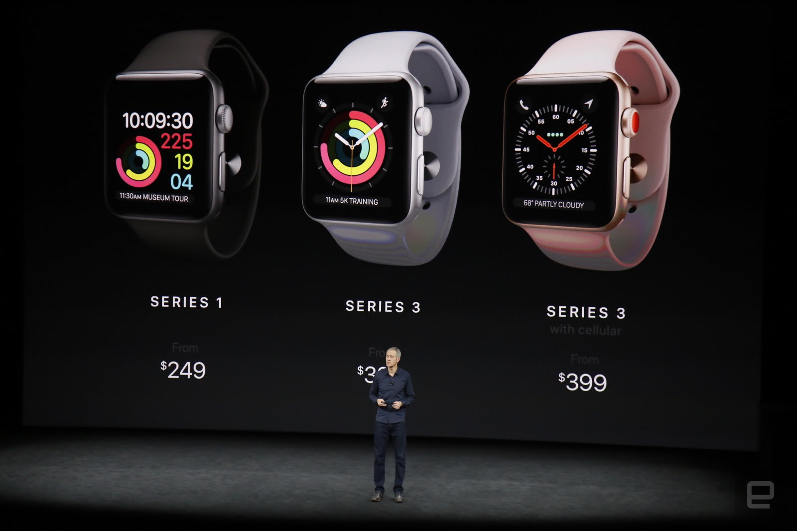 435ba125c4b Apple Watch Series 3 gains LTE for  399