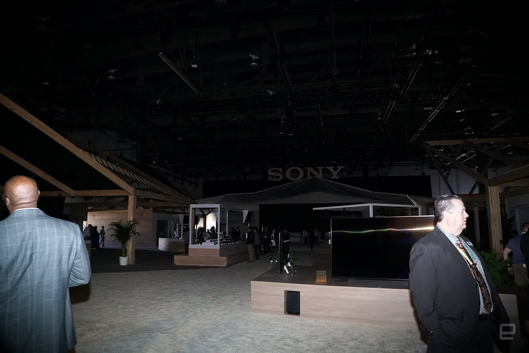 Into the darkness at CES 2018