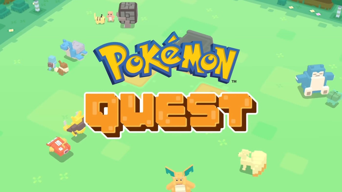 Free 'Pokémon Quest' RPG released today on Nintendo Switch