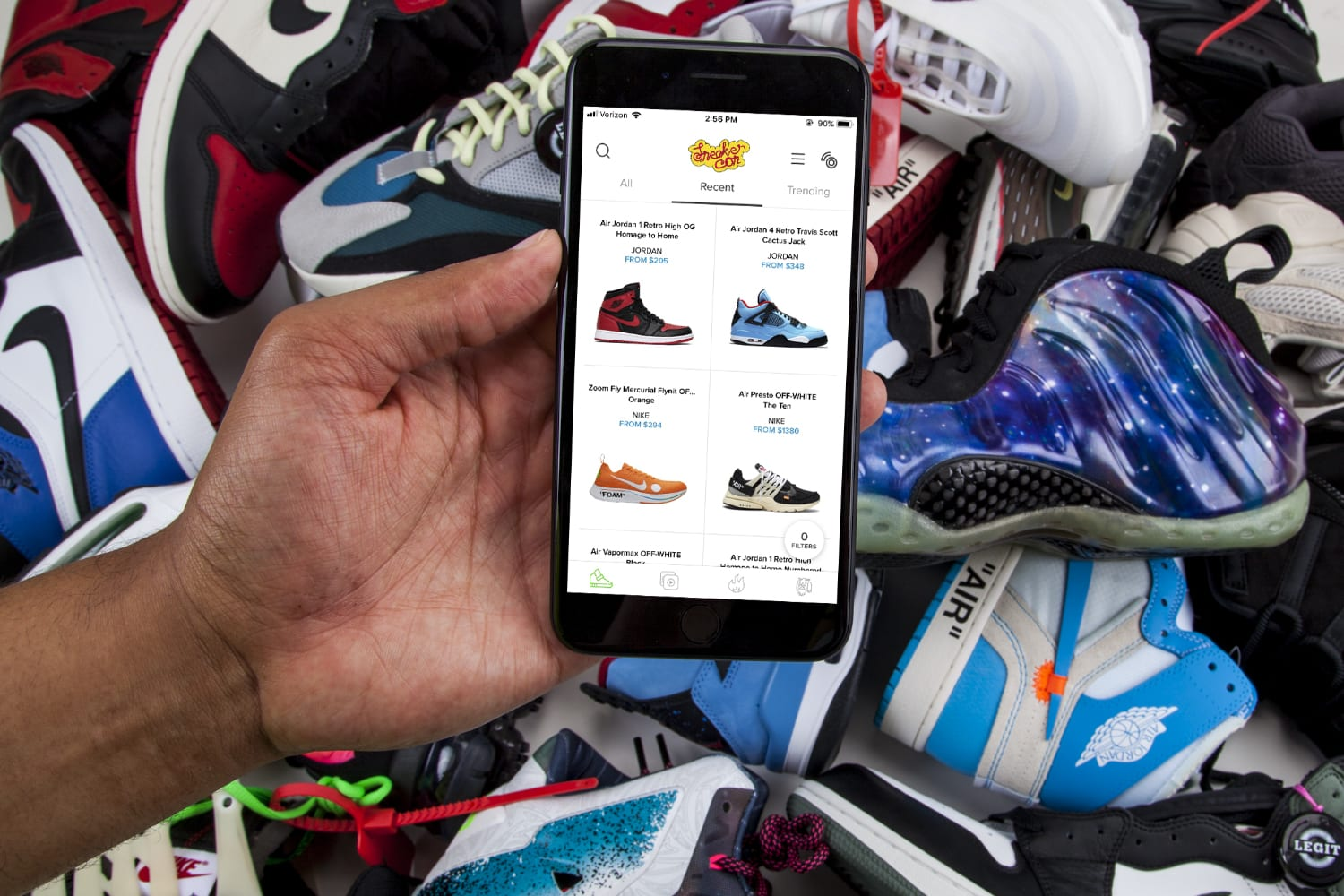 1e30a03ec3402e Sneaker Con bets NFC will keep fakes off its new shoe-selling app