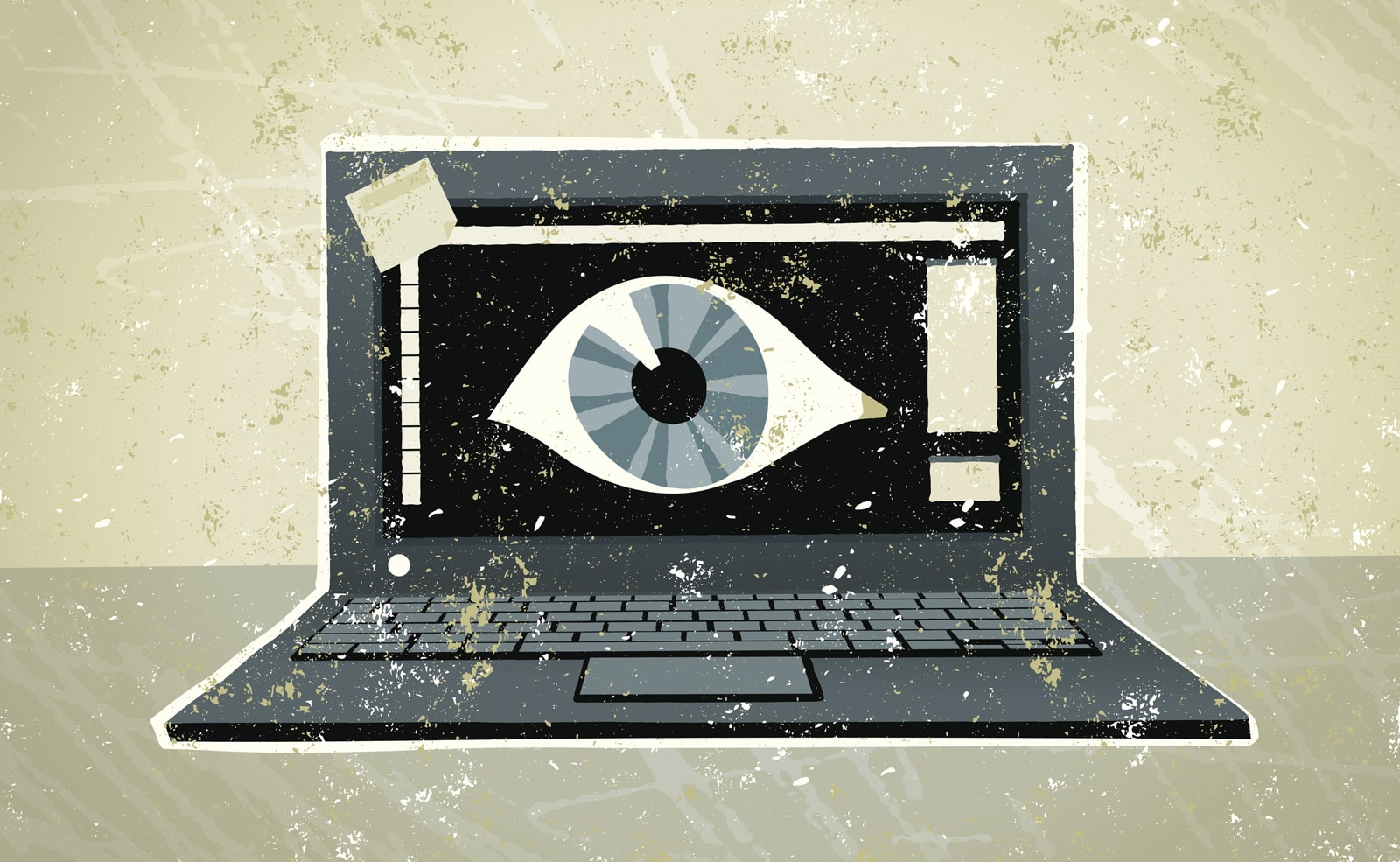 The FBI recommends you cover your laptop's webcam, for good