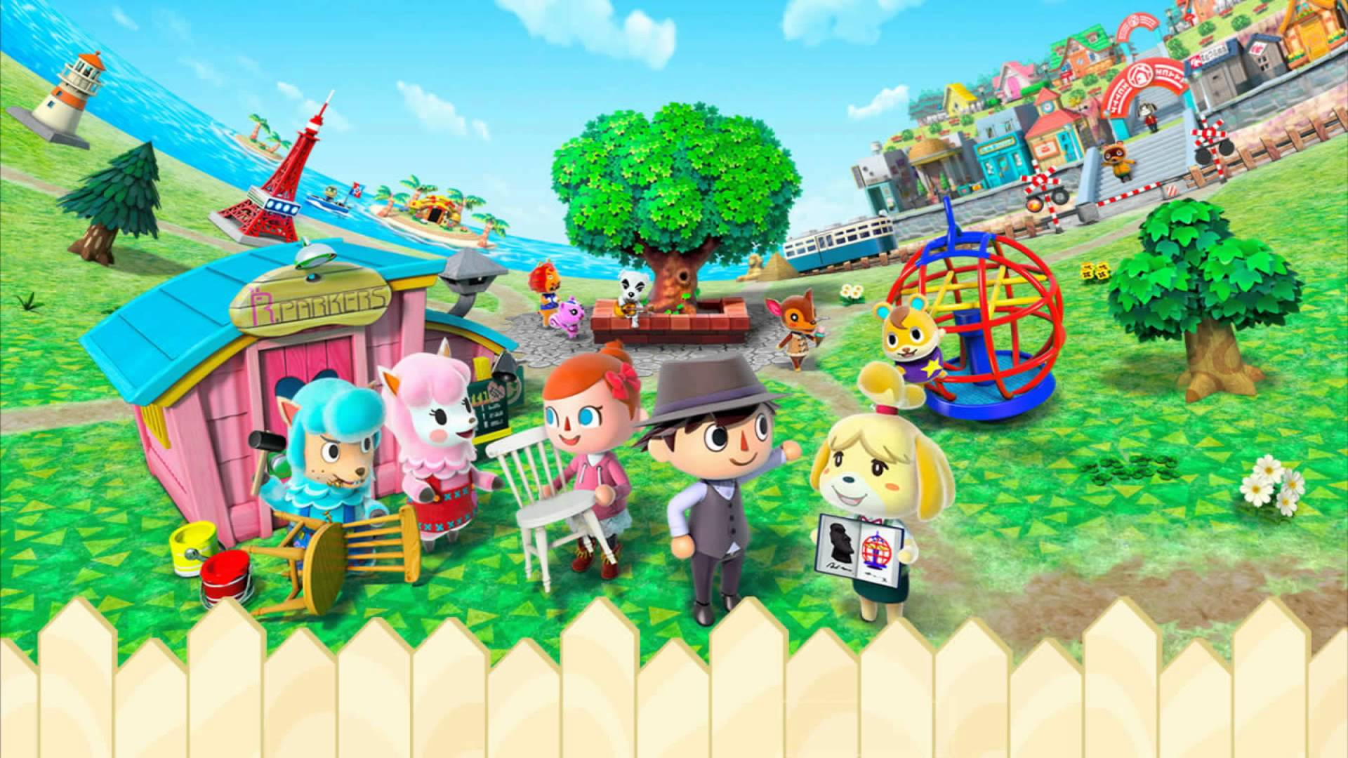 Why Nintendo Chose 'Animal Crossing' Over 'Mario' For
