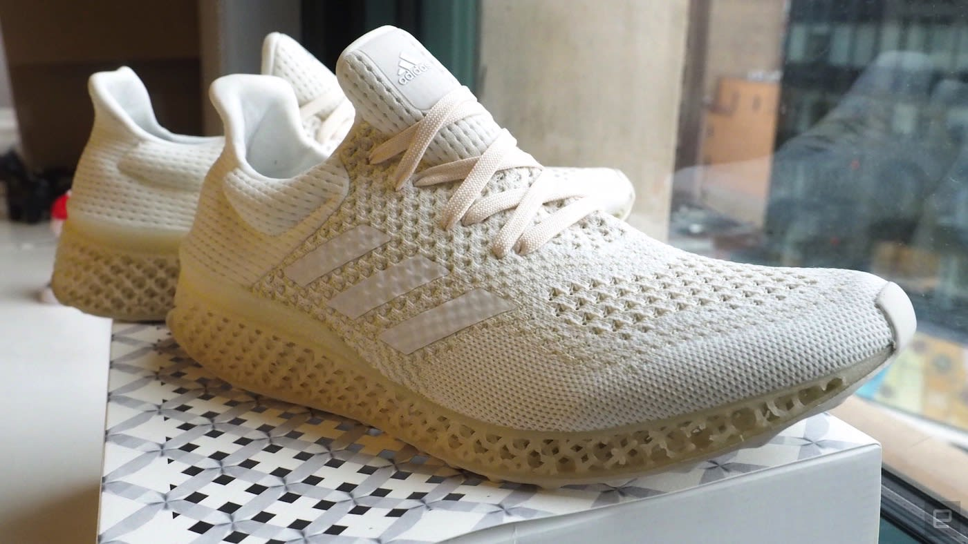 hot sale online 7df64 a71f6 Adidas Futurecraft 3D shows the potential of 3D-printed shoes