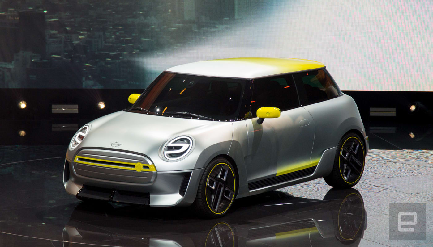Mini Shows Off Its Pure Electric Concept Car
