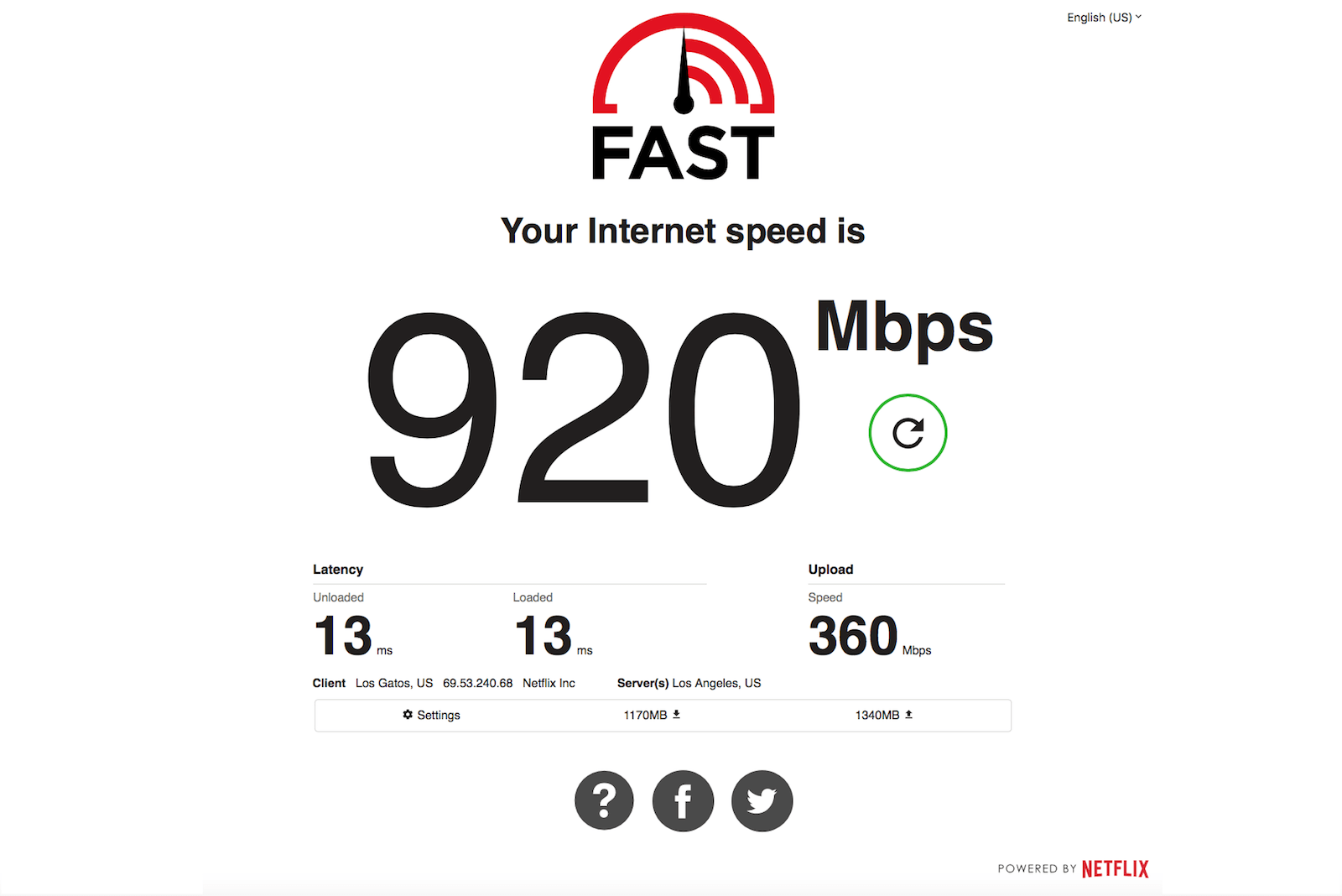 Netflix's Fast com now measures upload speed and latency
