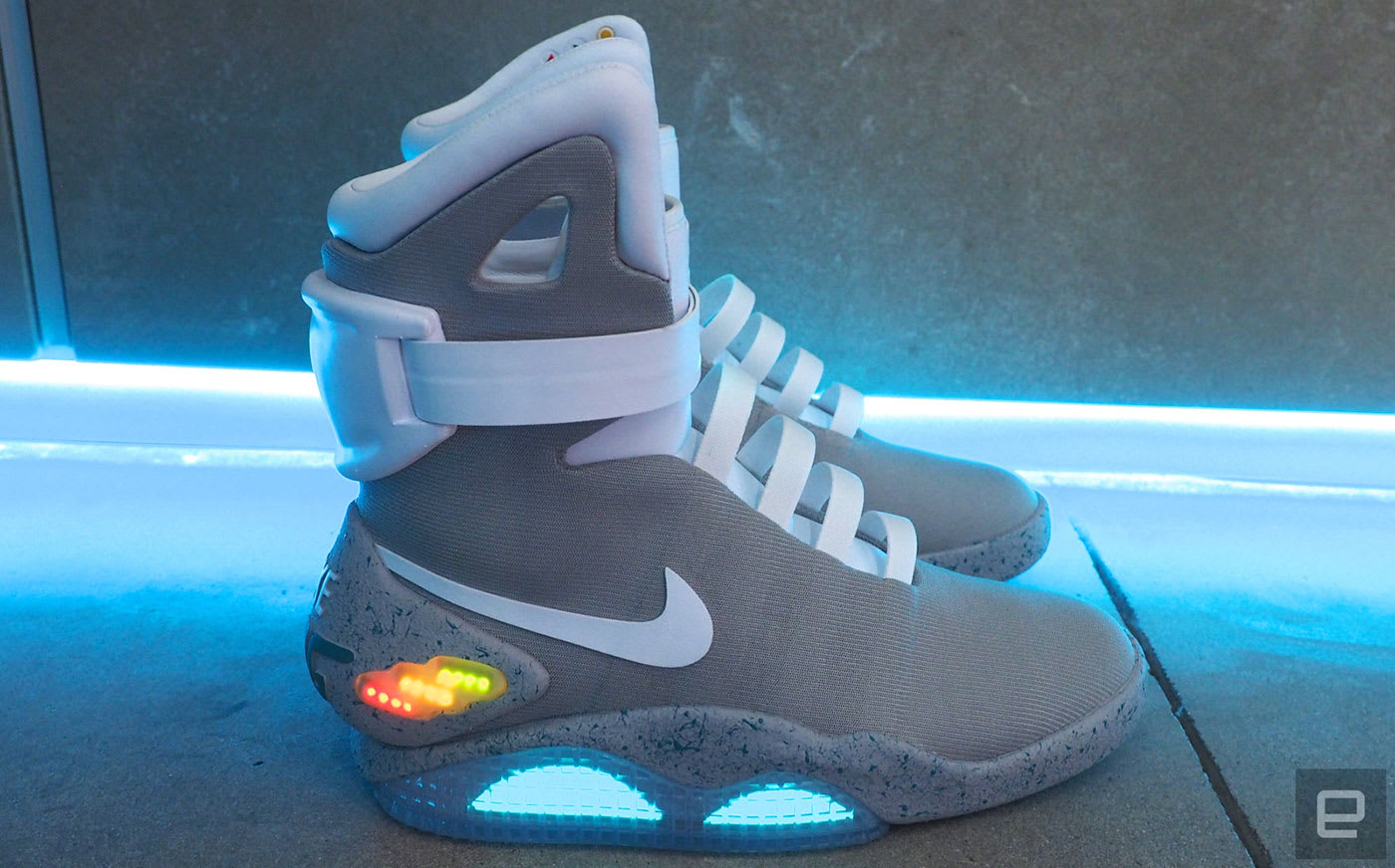 Nike s power-laced Mags net millions for Parkinson s research 3064bf73586f