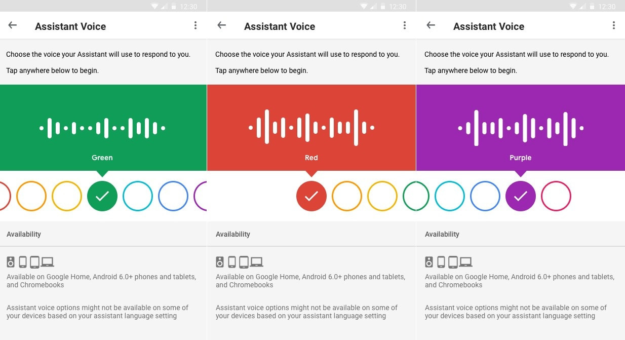 it s now easier to change google assistant s voice