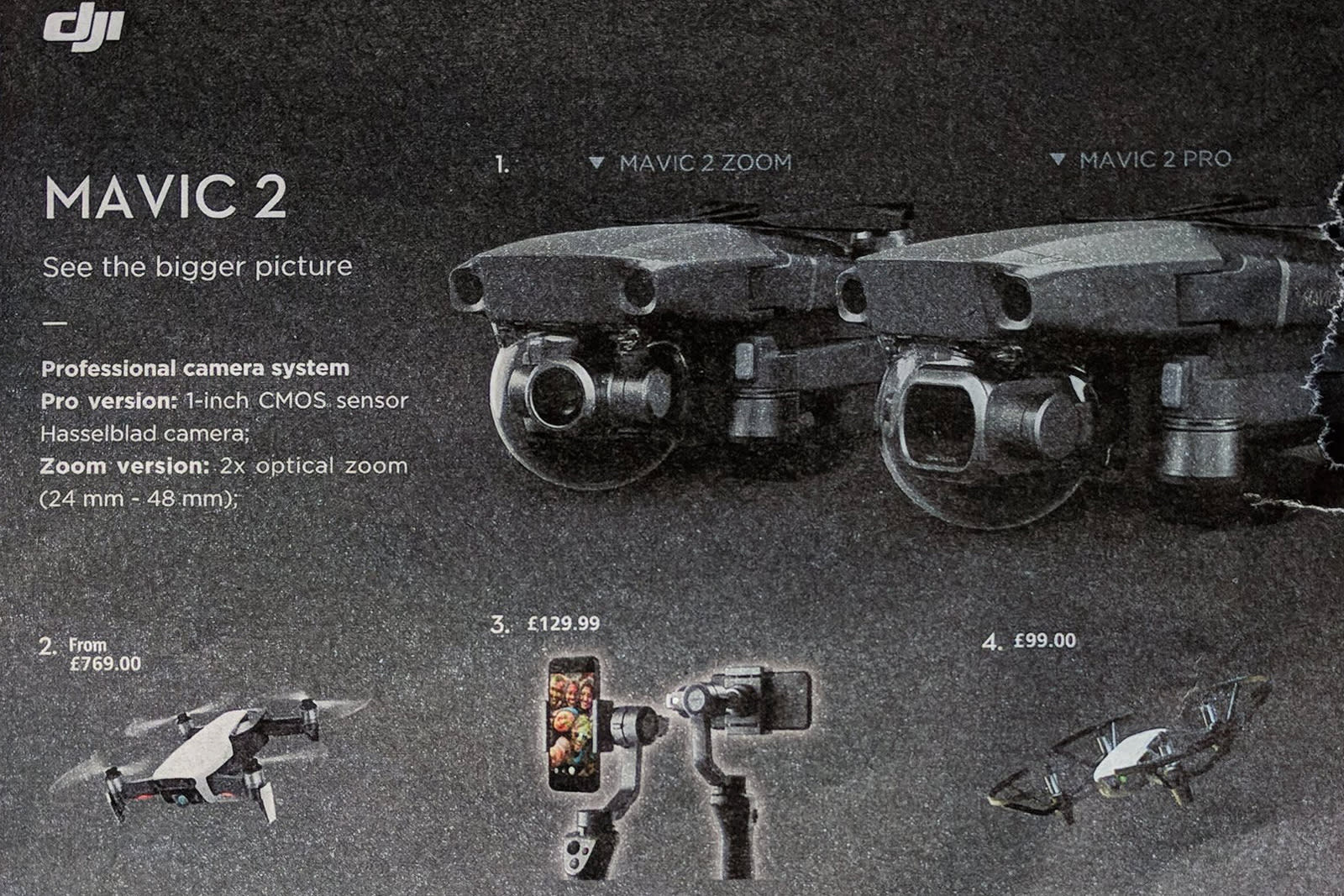 b00d6a03953 DJI's leaked Mavic 2 drone will come in 'Pro' and 'Zoom' versions