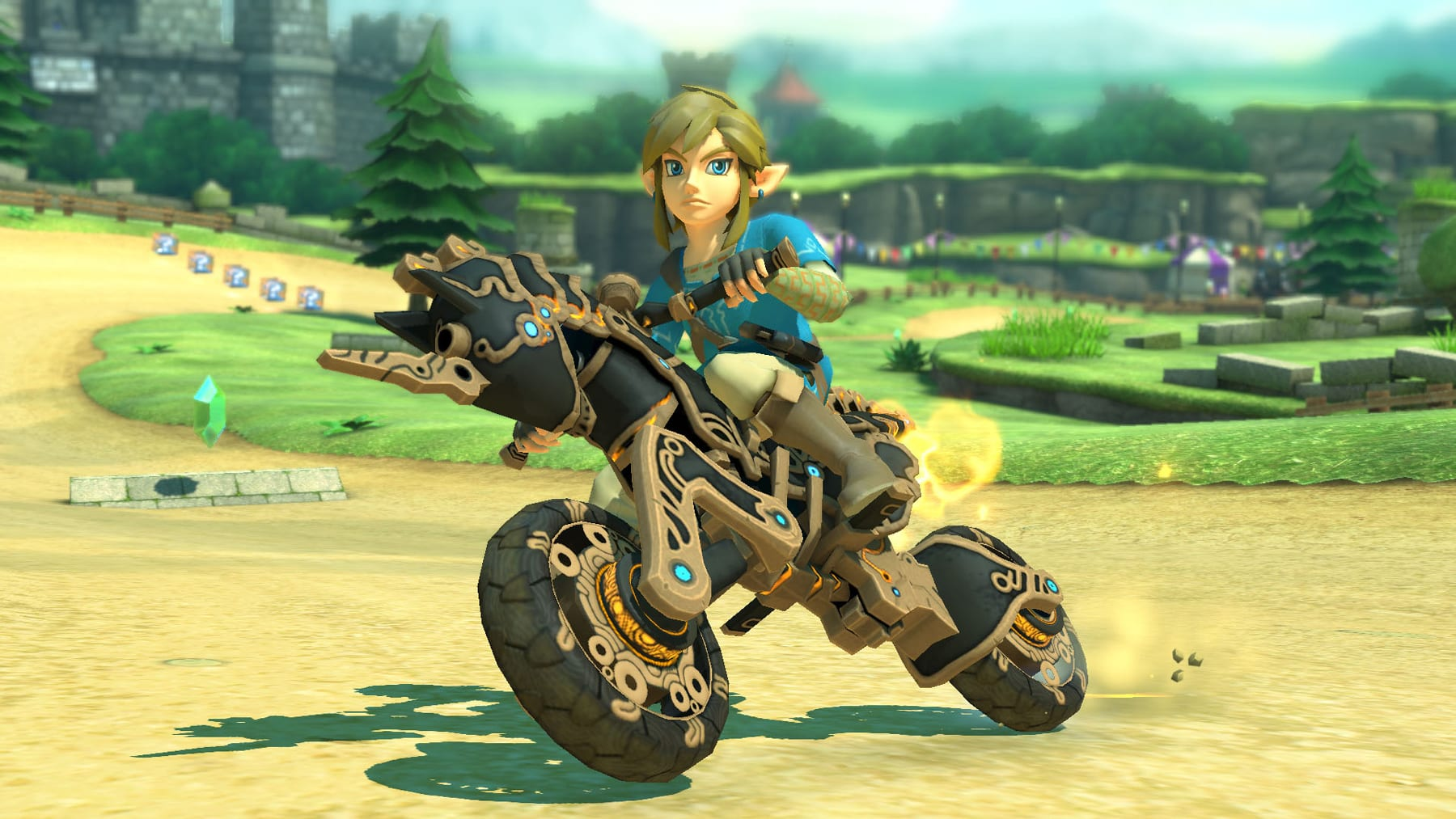 Mario Kart 8 Deluxe' update adds Link from 'Breath of the Wild'
