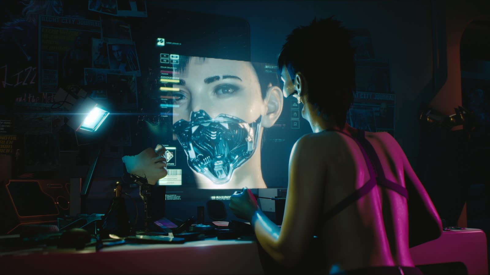 In 'Cyberpunk 2077' you control your own dark, intoxicating