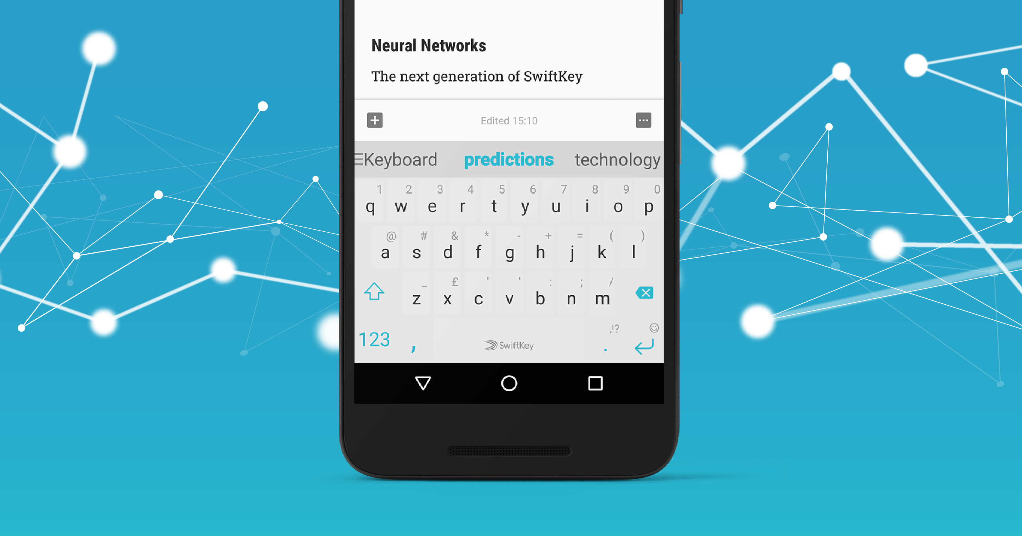 SwiftKey for Android is now powered by a neural network
