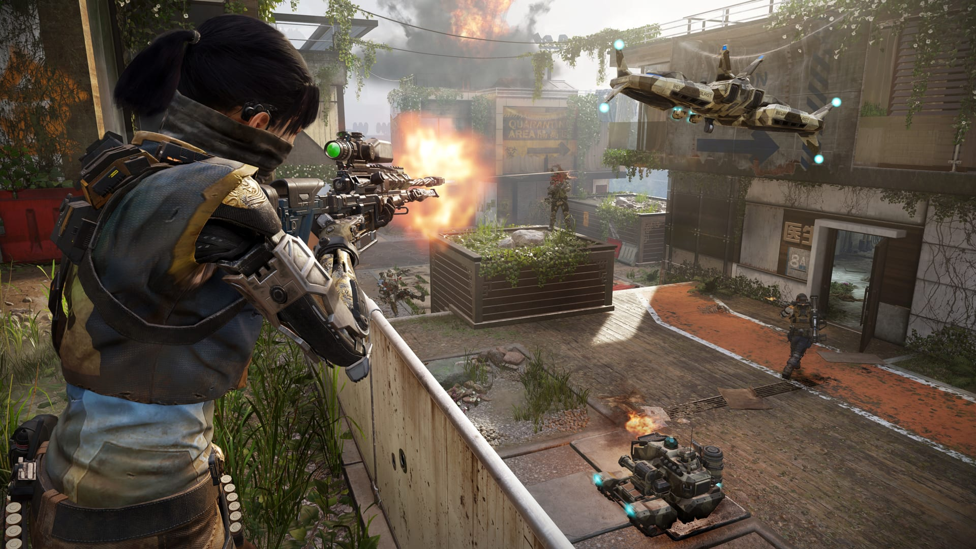 Black Ops 3' is $15 on Steam in a multiplayer-only edition