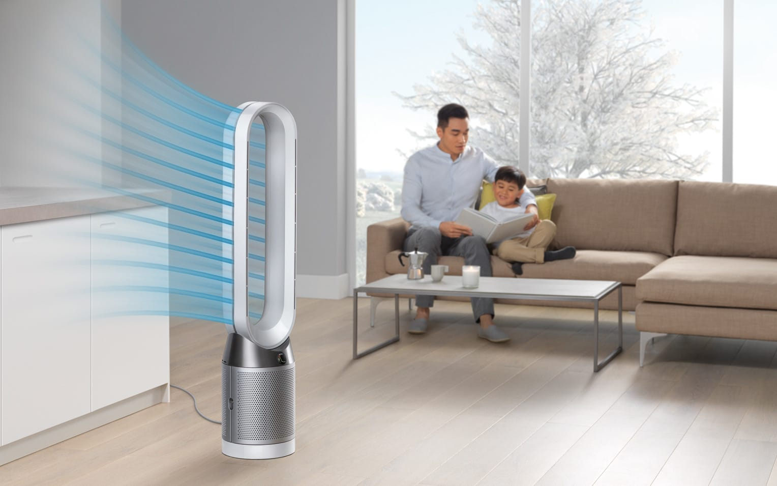 Fan That Blows Cold Air >> Dyson S Latest Fans Can Purify Air Without Blowing At You