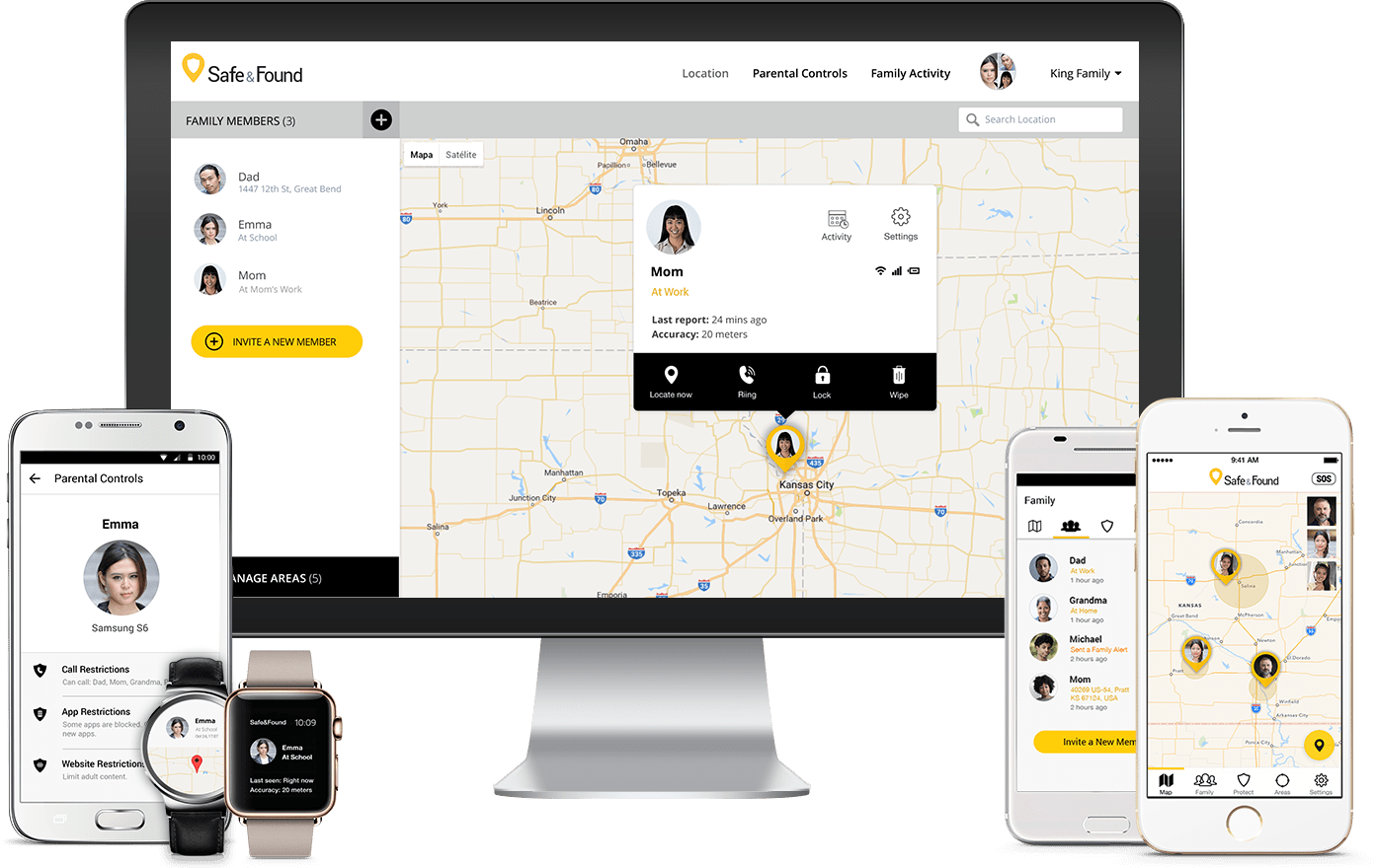 Sprint's Safe and Found combines parental controls with