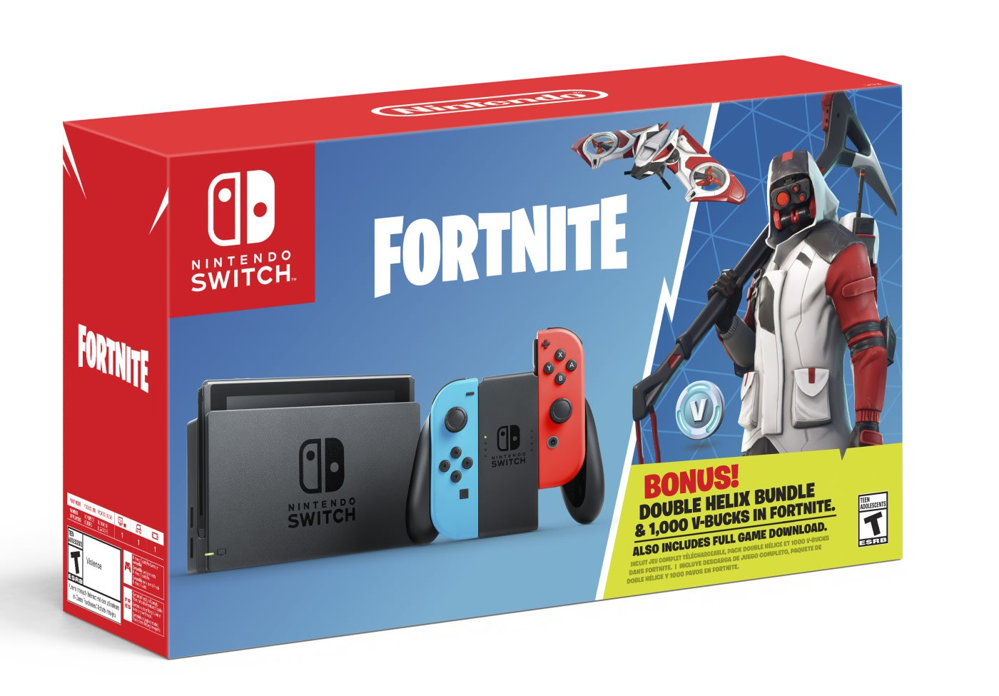 Fortnite' Switch bundle arrives October 5th with in-game perks