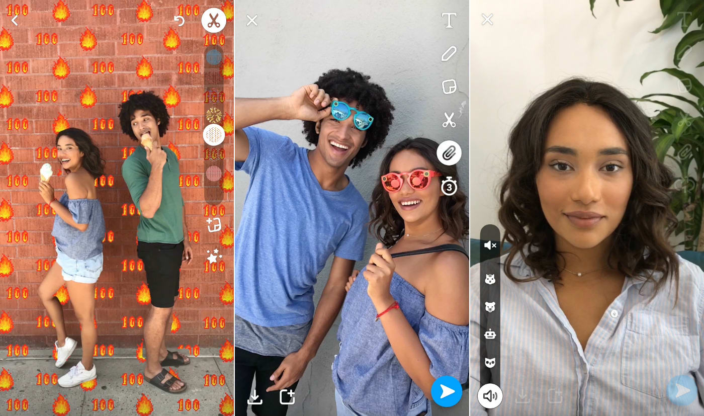 Snapchat warps reality with backdrops and mask-free voice filters