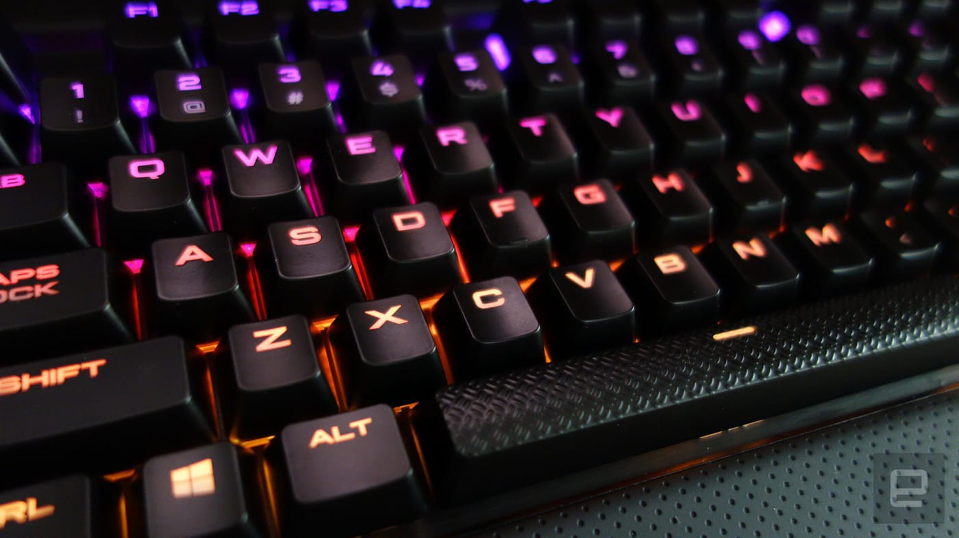 8f29c6a82a7 The Rapidfire K70 is a gaming keyboard that typists will love