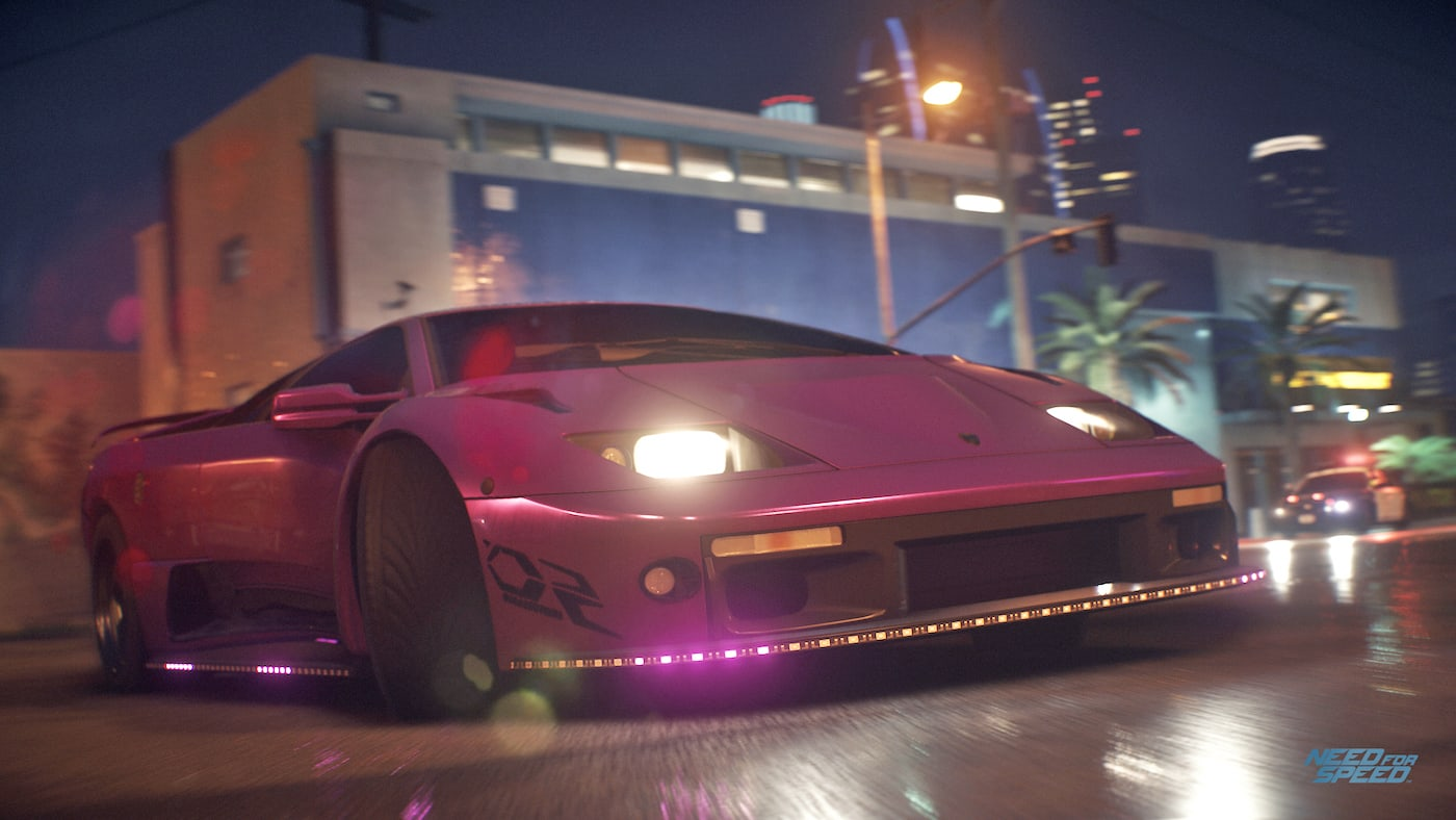Need For Speed Hits Pc In March With Steering Wheel Support