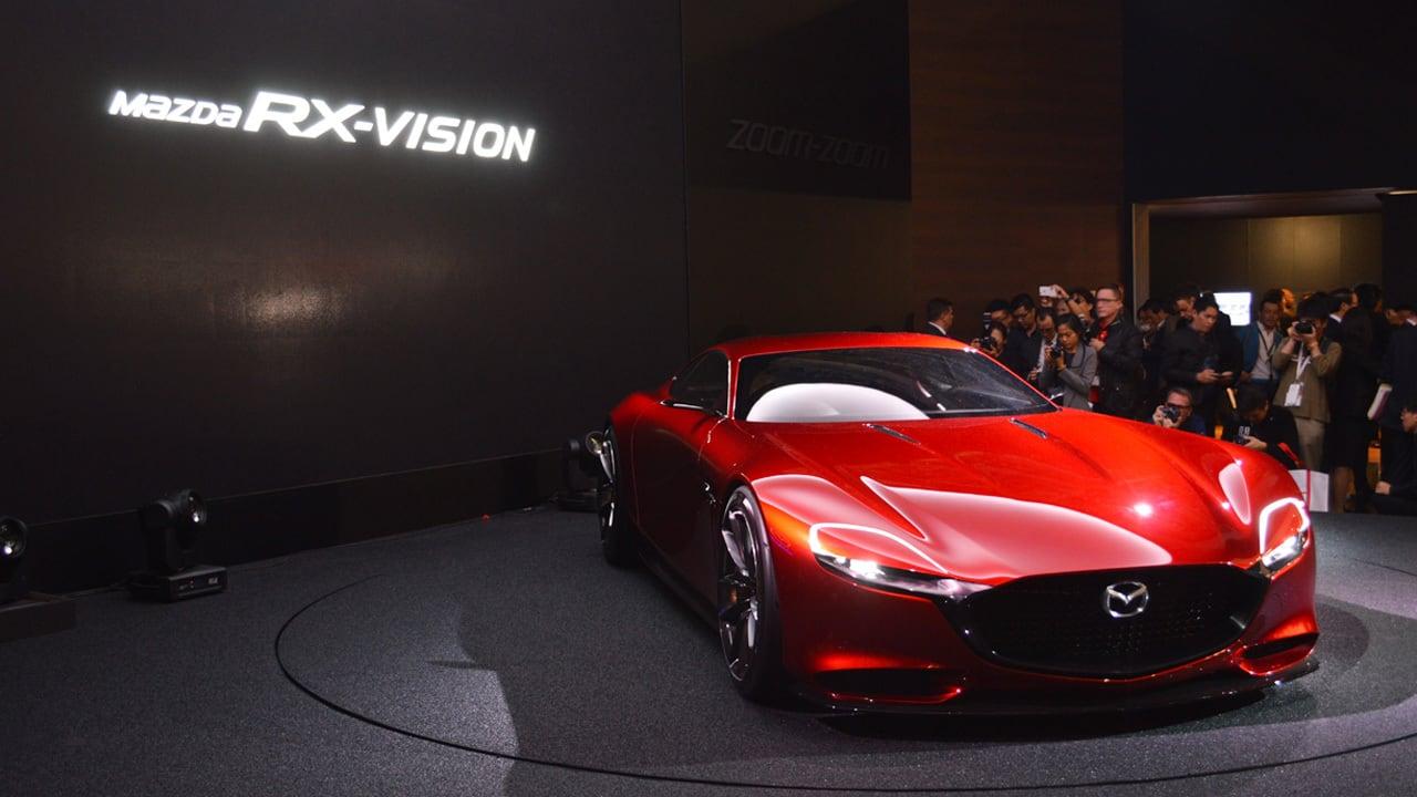 Mazda rotary engine returning in 2019 as EV range extender