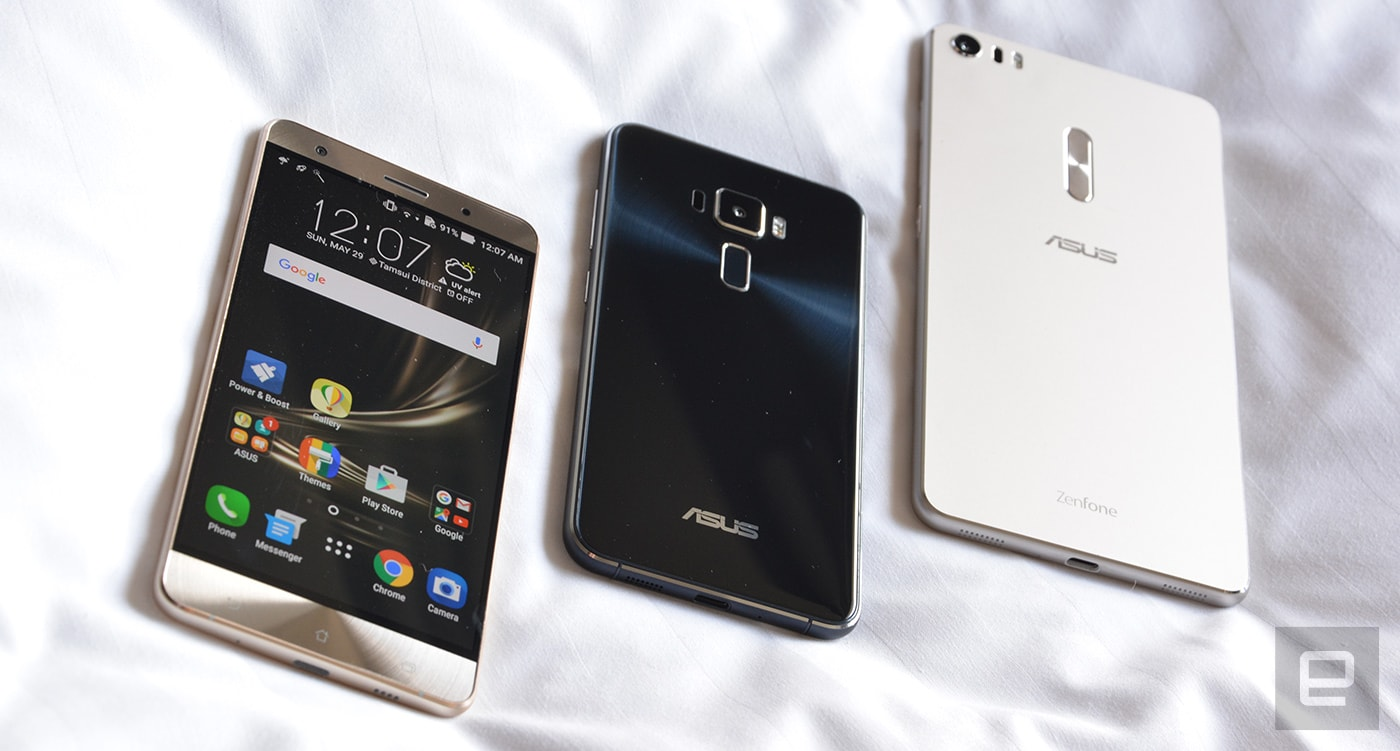 94e8be24b2 Up close with the ASUS ZenFone 3 series