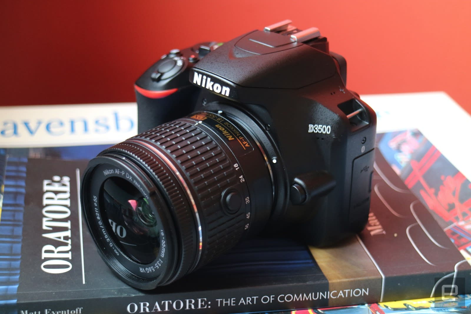 Nikon's D3500 is a compact DSLR for beginners