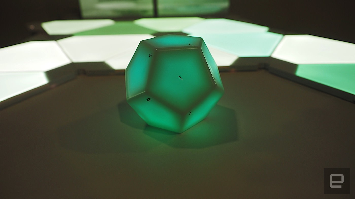 Samsclub Credit Login >> Nanoleaf wants you to control your smart home with a dodecahedron